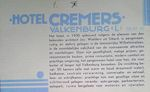 539 - Folder Hotel Cremers 1